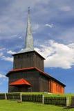 一个木教会 免版税图库摄影