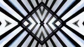 一个木结构的现代设计 免版税库存照片