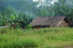 一个村庄在利比里亚 库存图片