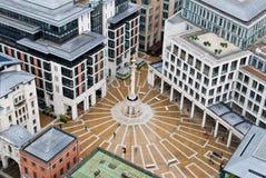 一个正方形在伦敦 库存照片