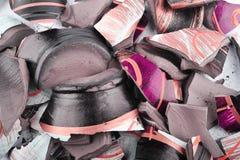 一个残破的花瓶的部分 免版税库存图片