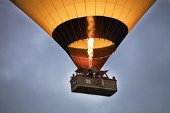 一个气球的飞行在蓝天的 12 05 2018年 火鸡 免版税库存照片