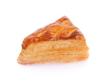 一个油酥点心饼用乳酪 免版税库存图片
