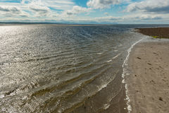 一个沿海看法在爱尔兰 免版税库存照片