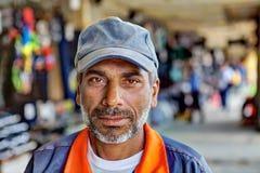 一个波斯人的特写镜头画象从南伊朗的 免版税库存照片