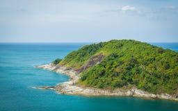 一个海岛在安达曼海 库存照片