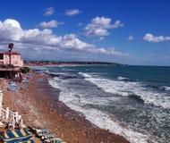 一个海滩在土耳其 图库摄影