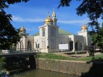 一个清真寺在坦格朗 免版税库存图片