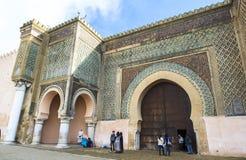 一个清真寺在梅克内斯,摩洛哥 免版税库存照片