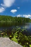 一个湖在德国。 库存图片