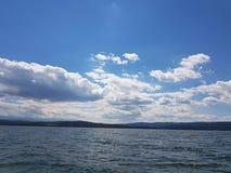 一个湖 免版税库存图片