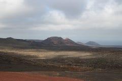 一个火山 免版税库存图片