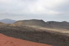 一个火山 免版税图库摄影
