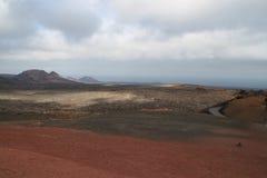 一个火山 库存图片