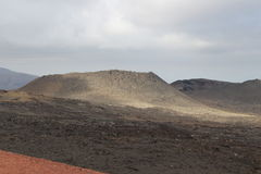 一个火山 免版税库存照片