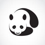 一个熊猫设计的传染媒介在白色背景的 皇族释放例证