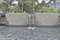 一个爱秩序湾公园在香港 库存照片