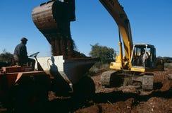 一个独立金刚石最小值,南非 免版税库存照片