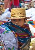 一个玛雅婴孩的画象 免版税库存照片