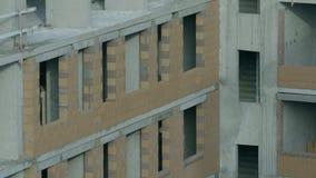 一个现代公寓的门面 公寓的建筑 库存照片