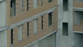 一个现代公寓的门面 公寓的建筑 免版税图库摄影