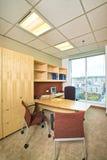 一个现代办公室的内部 库存图片