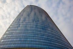 一个现代大厦的办公室 免版税库存图片