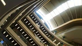 一个现代大厦的天花板建筑学 图库摄影