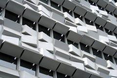 一个现代大厦的详细资料在里斯本 免版税库存图片