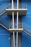 一个现代大厦的详细资料在里斯本 图库摄影