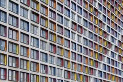 一个现代大厦的透视图 库存照片
