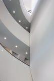一个现代大厦的内部细节 免版税库存照片