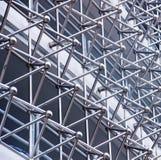 一个现代大厦的抽象建筑学; 免版税库存照片