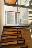 一个现代大厦的楼梯 图库摄影