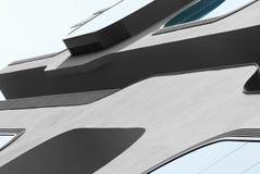 一个现代大厦的片段,汉堡 库存图片