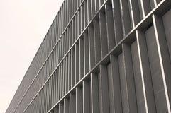 一个现代大厦的门面透视图  免版税库存图片
