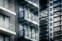 一个现代大厦的建筑细节在华盛顿特区, 免版税库存图片
