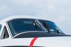 一个现代小航空器的驾驶舱 图库摄影