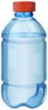 一个瓶安全饮用水 免版税库存图片