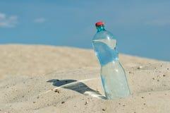 一个瓶水 免版税库存照片
