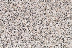 一个白色大理石和小卵石 免版税库存照片