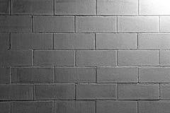 一个白色砖墙的背景纹理 库存图片