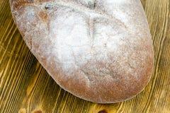 一个白面包 库存照片