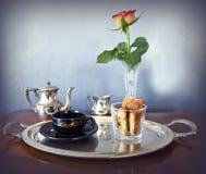 一个的轻快早餐 免版税库存照片