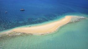 一个目的地海岛的天线Whitsundays的澳大利亚 库存照片