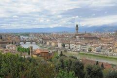 一个看法在佛罗伦萨 免版税库存照片