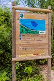 一个看法在Tayrona国家公园在哥伦比亚 免版税图库摄影