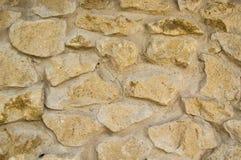 一个石墙的纹理在城堡的 免版税库存图片