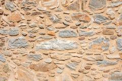 一个石墙的纹理 老城堡石墙纹理背景 Briks石头和墙壁纹理 免版税图库摄影