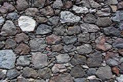 一个石墙的纹理 免版税图库摄影